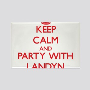 Keep Calm and Party with Landyn Magnets