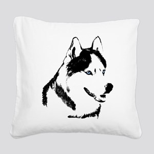 Siberian Husky Throw Blanket Sled Dog Blanket