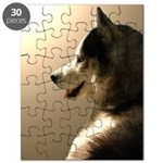 Siberian Husky Puzzle Sled Dog Puppy Puzzle