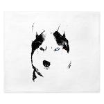 Siberian Husky Duvet Cover Sled Dog King Duvet
