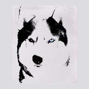 Husky Malamute Blanket Sled Dog Throw Blanket