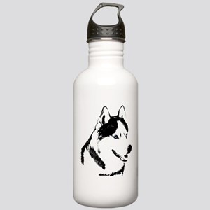 Husky Bottle Siberian Husky Malamute Water Bottle