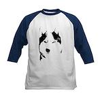 Husky Jersey Kid's Husky Malamute Baseball Shirt