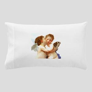 Cupids Kiss by Bouguereau Pillow Case