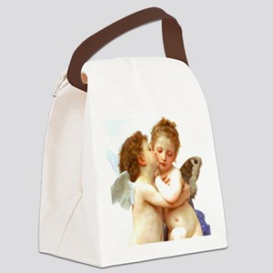 Cupids Kiss by Bouguereau Canvas Lunch Bag