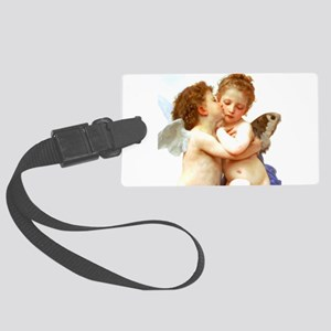 Cupids Kiss by Bouguereau Luggage Tag