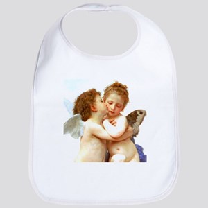 Cupids Kiss by Bouguereau Bib