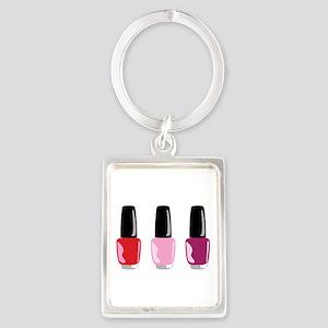 Nail Polish Keychains