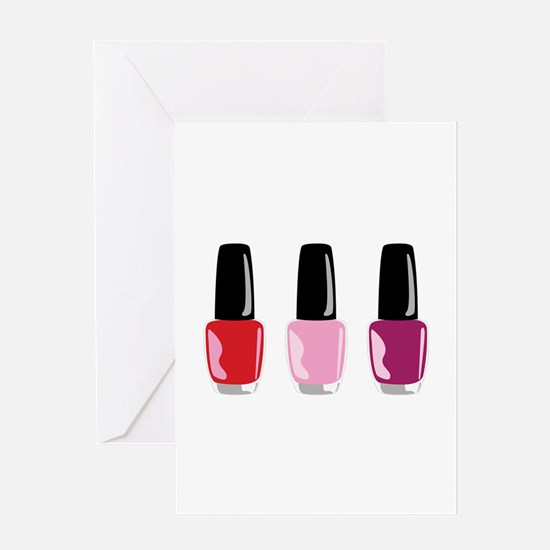 Nail Polish Greeting Cards
