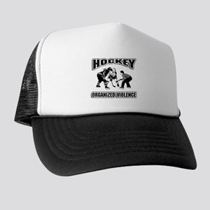 Hockey Organized Violence Trucker Hat