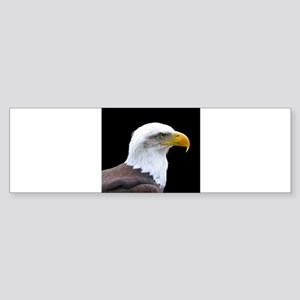 Bald Eagle profile Bumper Sticker