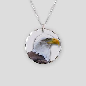 Bald Eagle profile Necklace