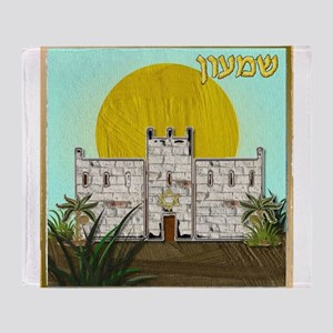 12 Tribes Israel Simeon Throw Blanket