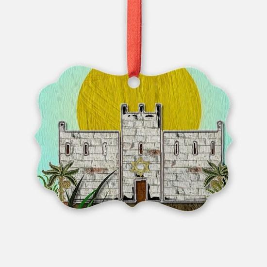 12 Tribes Israel Simeon Ornament