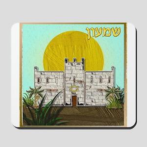 12 Tribes Israel Simeon Mousepad