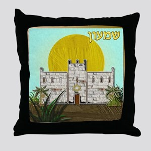 12 Tribes Israel Simeon Throw Pillow