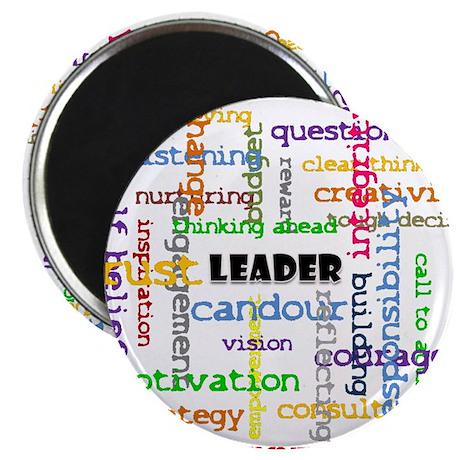 "Leadership Traits Colour 2.25"" Magnet (10 pac"