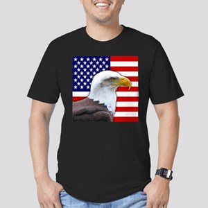 USA flag bald eagle T-Shirt