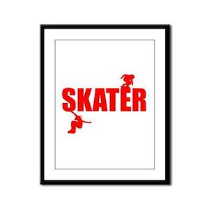 Skater Framed Panel Print