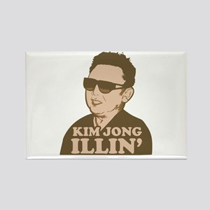 Kim Jong Illin' Rectangle Magnet