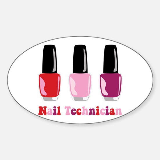 Nail Technician Decal