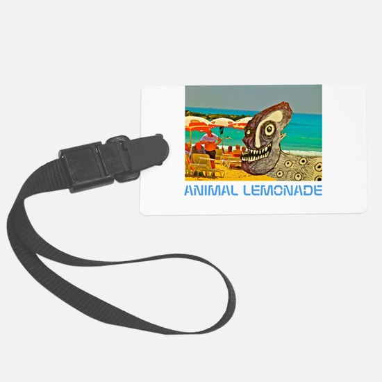 Dog Day at the Beach Luggage Tag