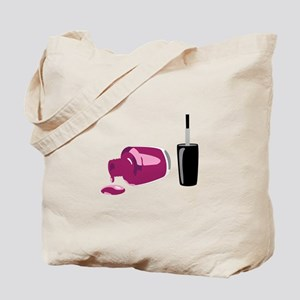 Spilled Nail Polish Tote Bag