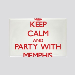 Keep Calm and Party with Memphis Magnets