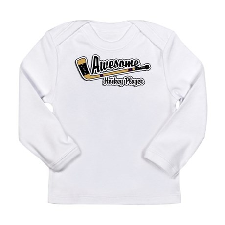 Hockey Player Long Sleeve Infant T-Shirt