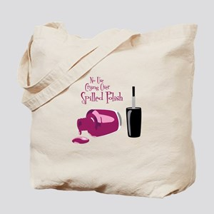 No Use Crying Over Spilled Polish Tote Bag