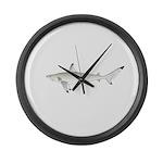 Blacktip Shark Large Wall Clock