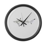 Blacktip Shark Large Wall Clock