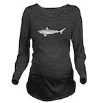 Blacktip Shark c Long Sleeve Maternity T-Shirt