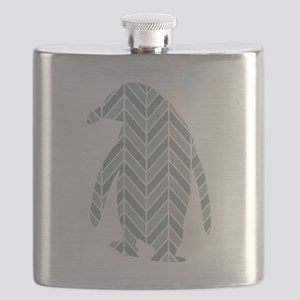 Chevron Penguin Flask