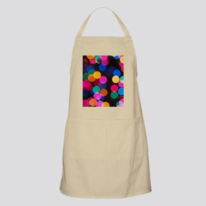Christmas Tree Lights in Bokeh Apron