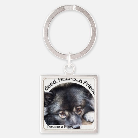 Friend in Need Square Keychain