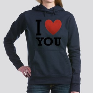 i-love-you-2 Hooded Sweatshirt