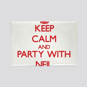 Keep Calm and Party with Neil Magnets