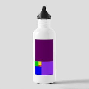 fibonacci roygbiv Stainless Water Bottle 1.0L
