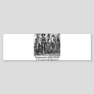 cowboysmaineventtshirt Bumper Sticker