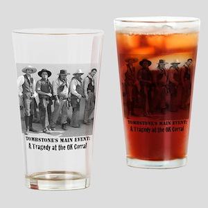 cowboysmaineventtshirt Drinking Glass