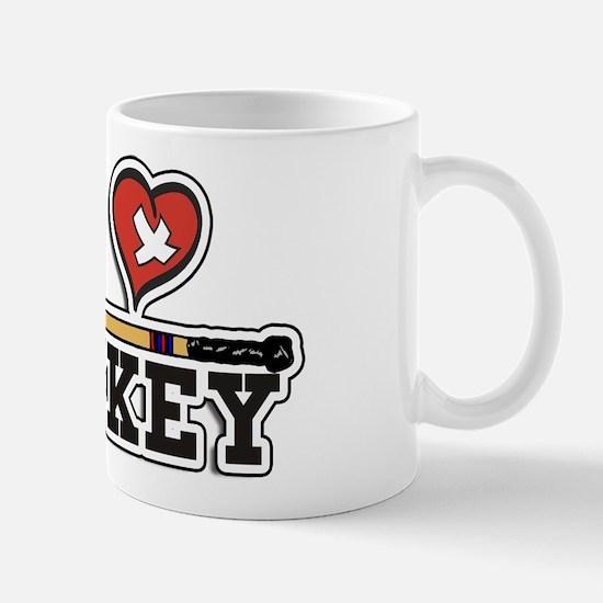 I Love Hockey Mug