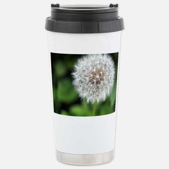 Dandelion Puff Stainless Steel Travel Mug