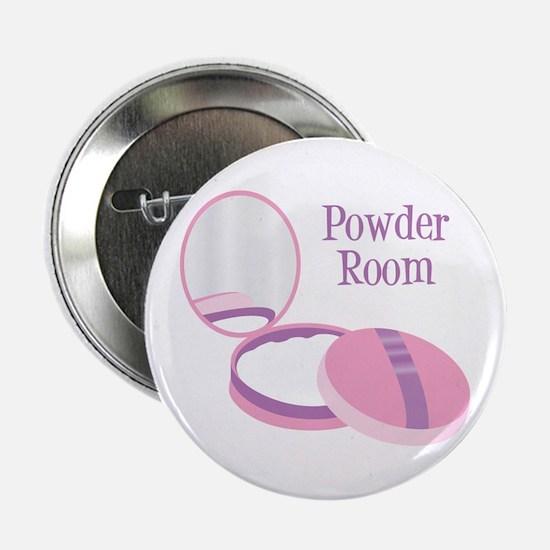 """Powder Room 2.25"""" Button"""