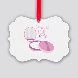 Powder Puff Ornament