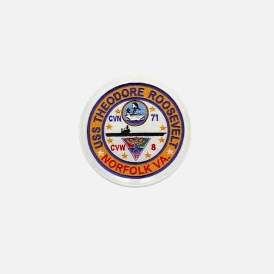 USS THEODORE ROOSEVELT Mini Button