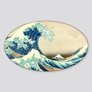 Hokusai Great Wave off Kanagawa Sticker