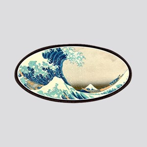 Hokusai Great Wave off Kanagawa Patches
