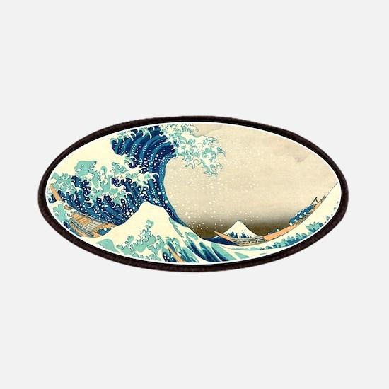Hokusai Great Wave off Kanagawa Patches