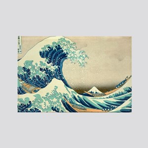 Hokusai Great Wave off Kanagawa Magnets